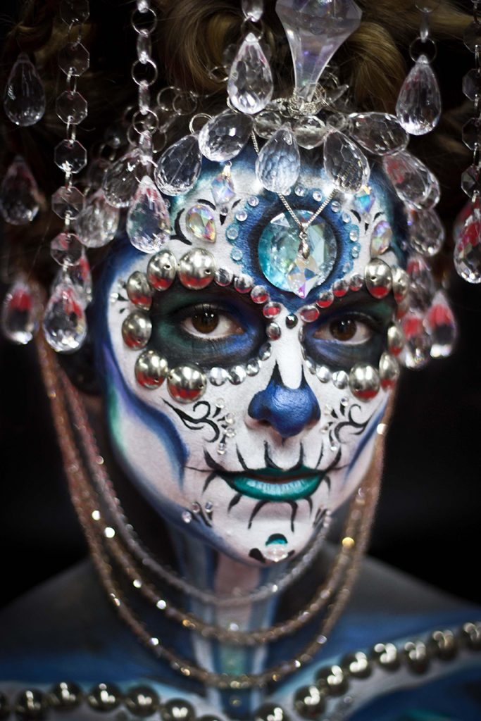 Sugar skull look for mistair
