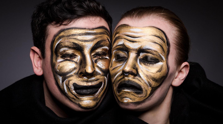 Persona - theatre mask piece