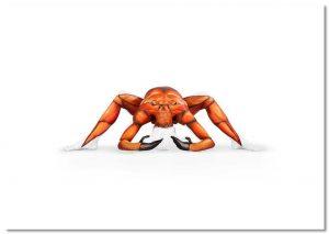 Crab A2 Print
