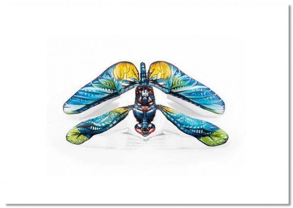 Dragonfly Landscape A2