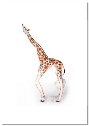 Marvels of Nature Giraffe print