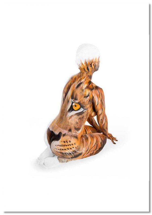 Yoga print Lions Roar