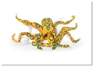 Octopus A2 Landscape Print