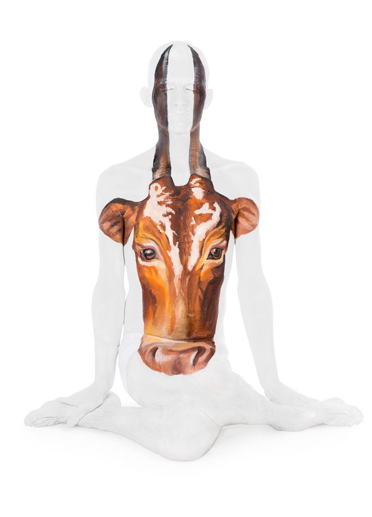 Cow pose - Union of Yoga series