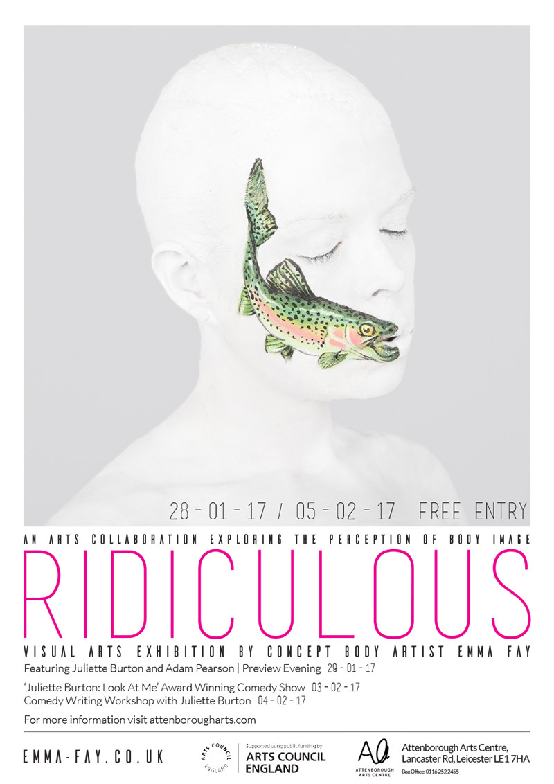 Ridiculous exhibition poster