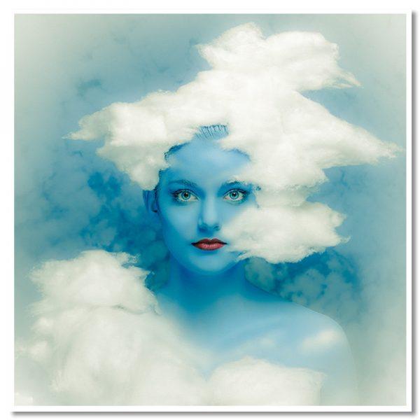 Cloud Walker square print